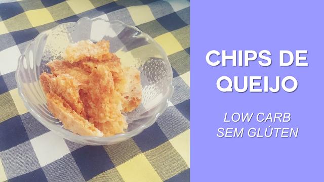 Snack Chips de Queijo (low carb e sem glúten)