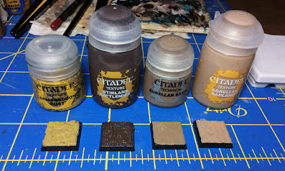 Mengel Miniatures Review New Games Workshop Texture Paints