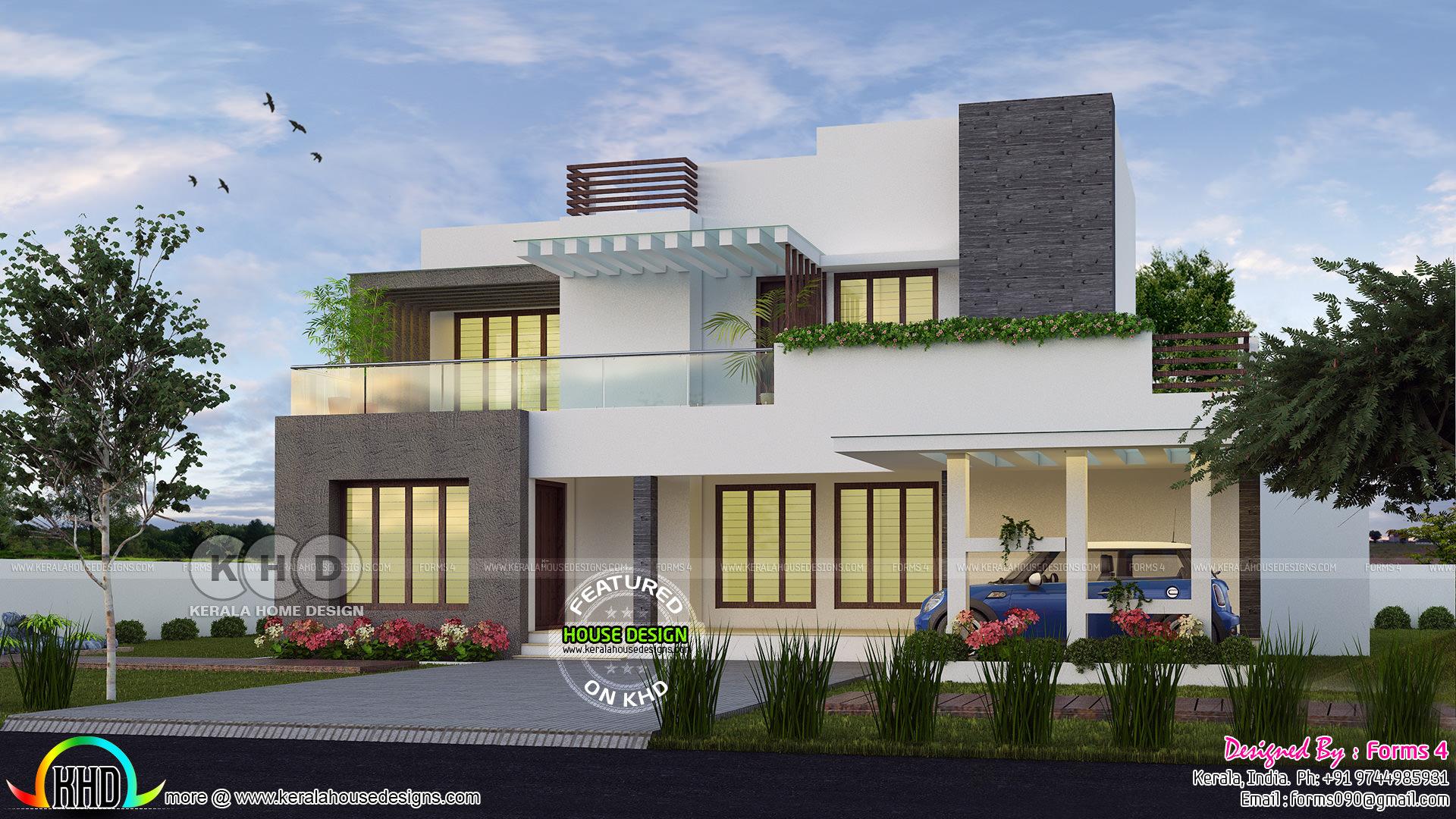 30 Lakhs Rupees Cost Estimated Modern House – Migliori Pagine da
