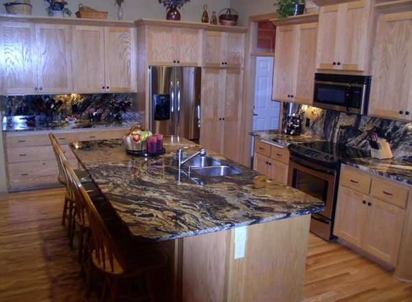 Giallo Argento Granite Countertop
