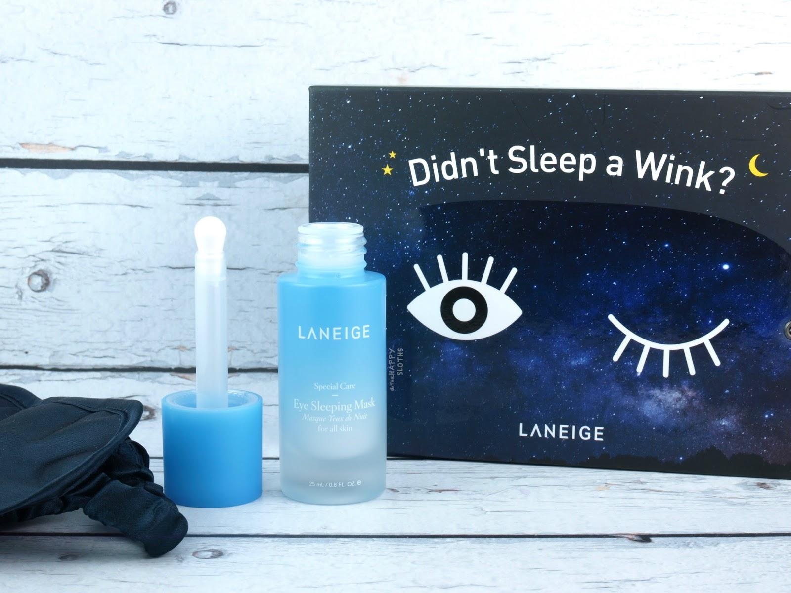 LANEIGE | Eye Sleeping Mask: Review