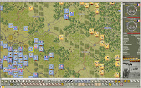 A 2D Map of the Battle of Na-San for the CS Vietnam Series o Wargames
