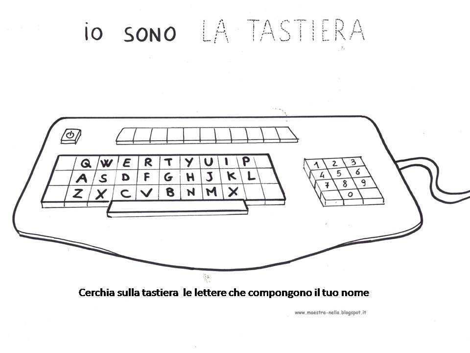 maestra Nella: il computer