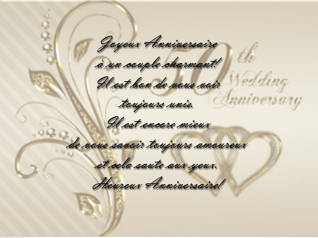 texte f licitations 50 ans mariage invitation mariage carte mariage texte mariage cadeau. Black Bedroom Furniture Sets. Home Design Ideas