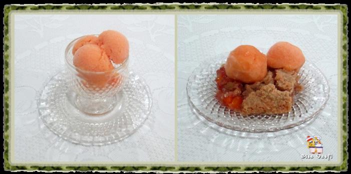 Sorbet de pêssegos 2