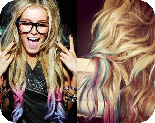 toxylicious hair chalking new dip dye do it yourself trend