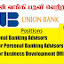 Vacancies in Union Bank of Colombo PLC