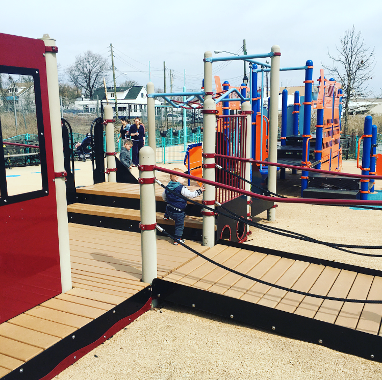 Nelson Park Pirate Playground Staten Island Places to Visit with Kids