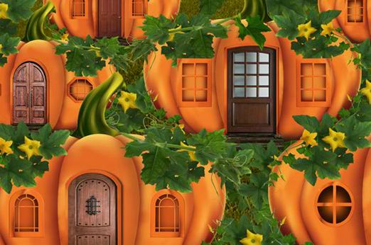 5nGames Pumpkin House Wit…