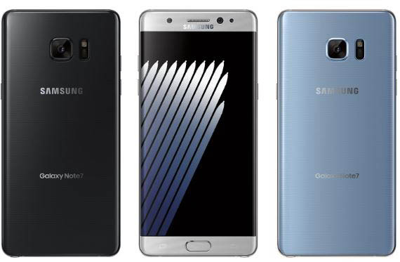 The new design and colors of Samsung Galaxy Note 7