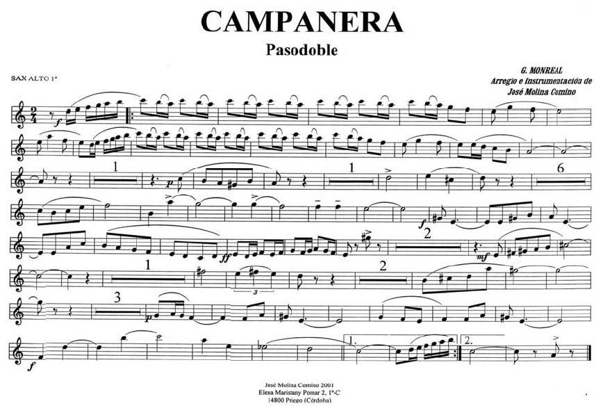musica y vinos pasodoble pdf