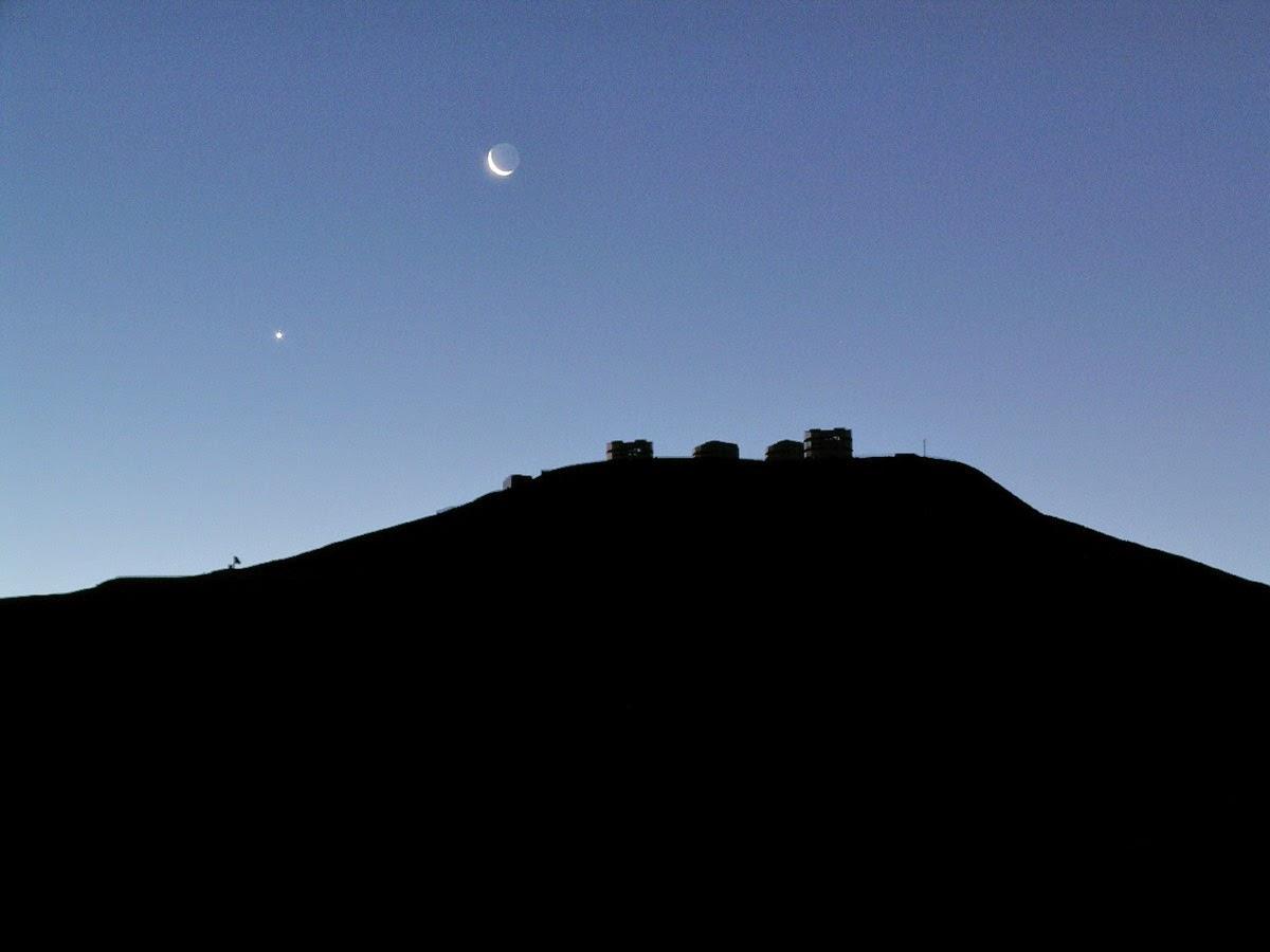 Lars Bosse: Weihnachtsbeginn an Heilig Abend, wenn die Venus am Himmel sichtbar wird
