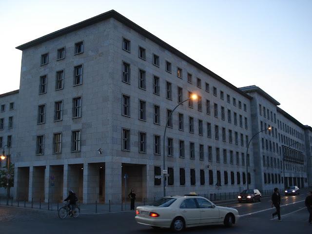 Prédios da Berlim Oriental.