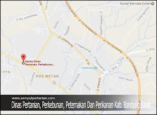 Alamat Dinas Pertanian, Perkebunan, Peternakan Dan Perikanan Kab. Bandung Barat