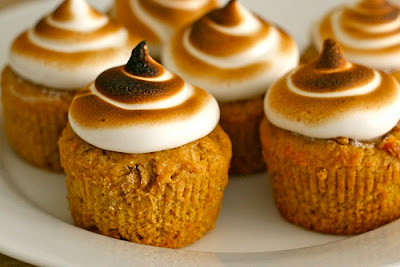 http://www.annies-eats.com/2012/11/20/sweet-potato-cupcakes-with-toasted-marshmallow-frosting/