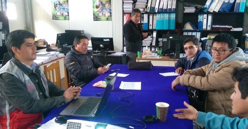 PRONIED: Realizan capacitación sobre la norma técnica de mantenimiento en la región Huancavelica - www.pronied.gob.pe