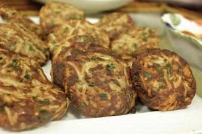 Beef  Noodle Kababs recipe