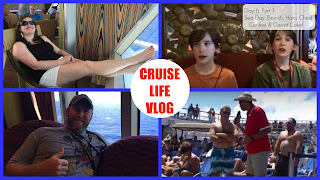 CRUISE LIFE: Carnival Freedom Day 6: Part 1 -Sea Day Brunch, Hairy Chest Contest & Cake