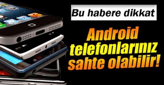 Telefon Alırken Sahtesini Kapılmayın! Teknoloji Haberleri