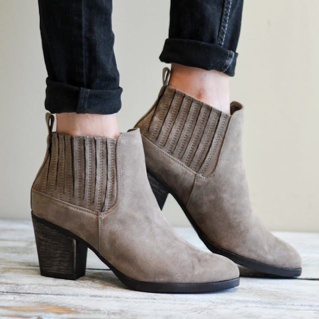 Jane: Western Chelsea Booties only $25 (reg $75)!