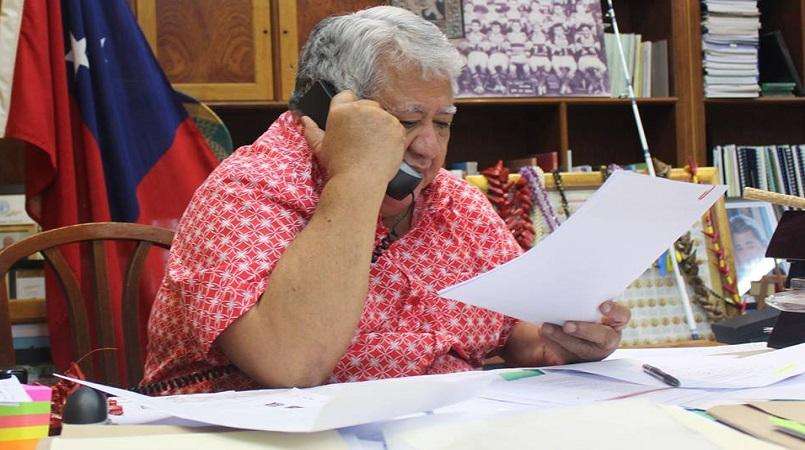Samoa PM dismisses nepotism claims over his son's appointment to Govt Ministry