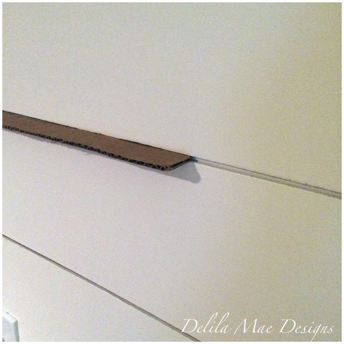 Delila Mae Designs: DIY Shiplap Wall