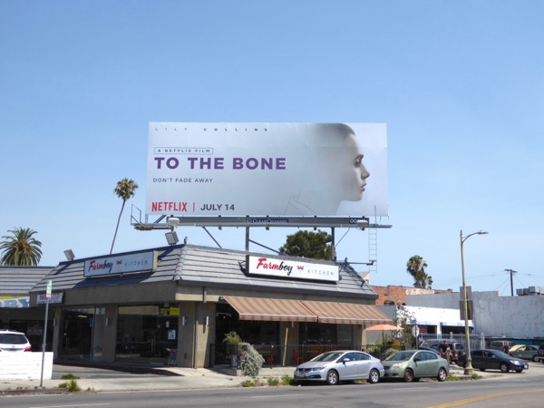 To the Bone film billboard