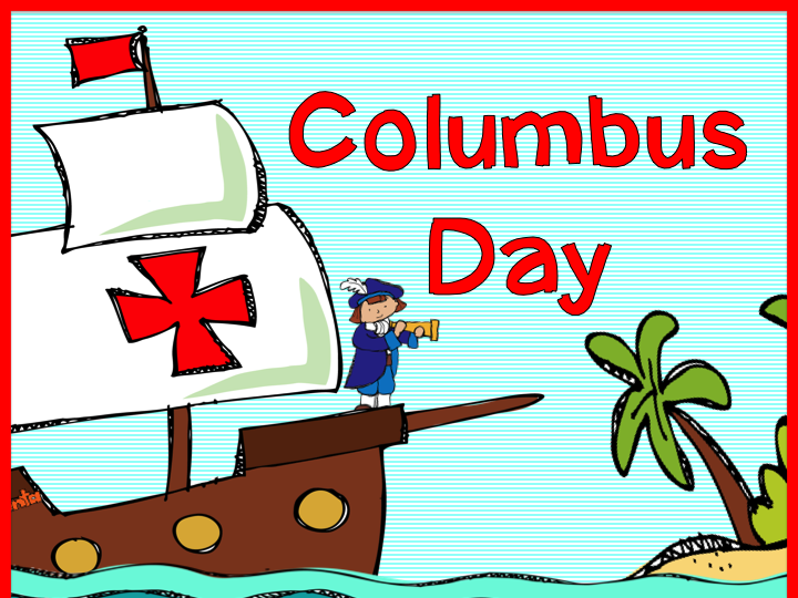 This page includes clip art images of queen isabella i and king ferdinand v, christopher columbus, the niña, … Columbus Day - Teach123