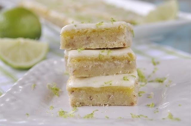 Key Lime Bars #dessert #lime