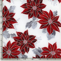 Winter Blossom fabric collection from Hoffman