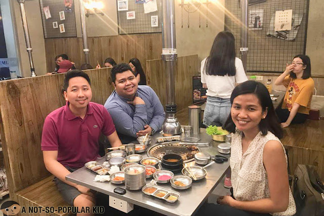 Renz, Fitz and Lyca in Premier The Samgyupsal
