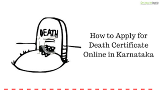 How to Apply for Death Certificate Online in Karnataka