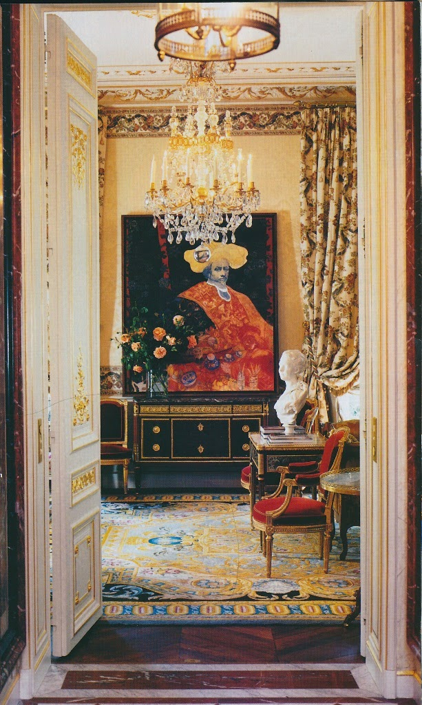 The peak of chic versailles on a small scale - Scale in interior design ...