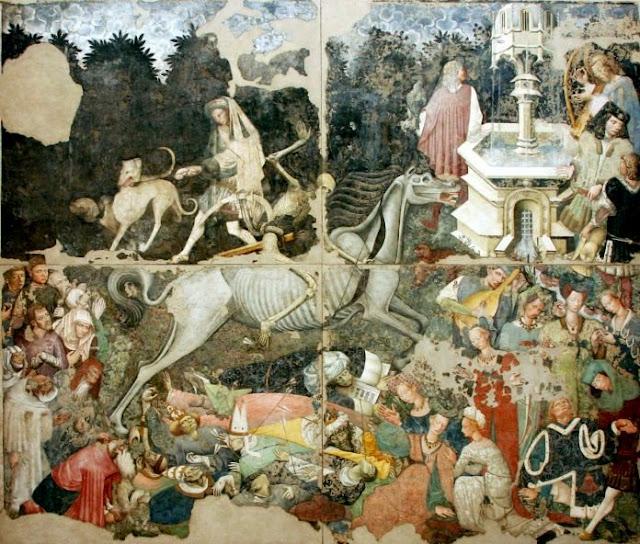 """Afresco """"O Triunfo da Morte"""", Palácio Abatellis de Palermo"""