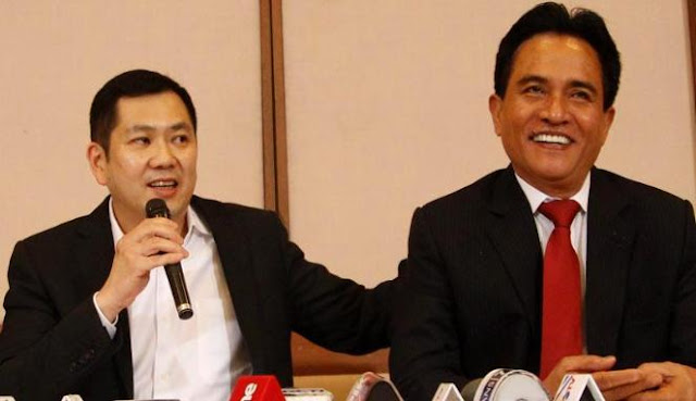 Kata Anak Buah HT, Hati Kecil Yusril Sepertinya Dukung Jokowi