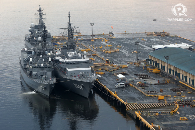 Three Japanese navy ships arrive in Manila as President Duterte visits Japan! READ WHY HERE!