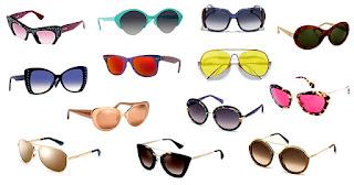 Gafas ojos rayos sol
