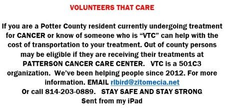 Volunteers that care