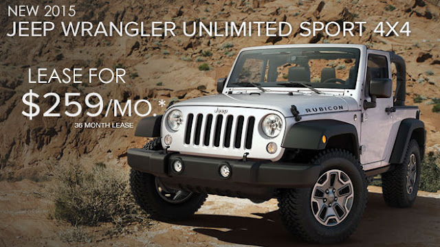 Jeep Lease Specials