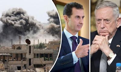 Syrie: la coalition américaine bombarde les alliés de Assad luttant contre Daesh dans - ECLAIRAGE - REFLEXION Mattis-strikes-Assad-s-military-806568