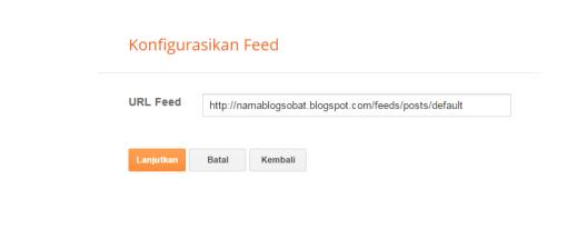 URL feed blog