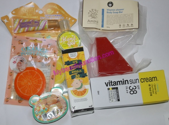 Memebox Special 12 Vitamin Care beauty box review, unboxing