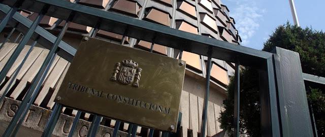 Tribunal Constitucional y reglamento
