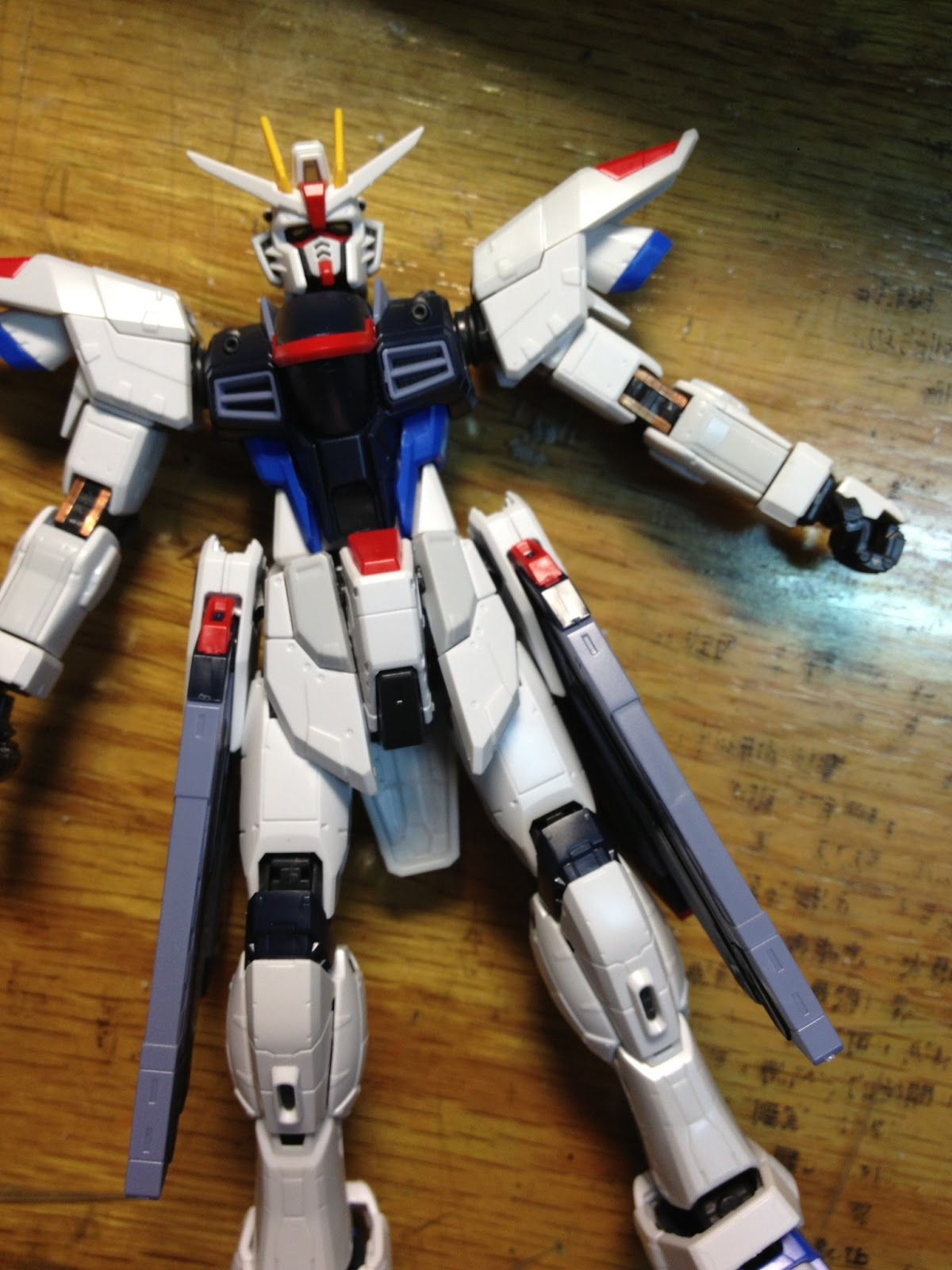 Pandaria: RG 自由鋼彈 - 墨線素組