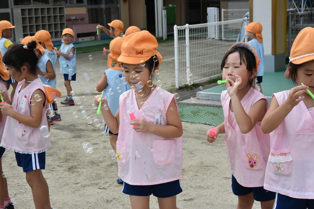 しらぎく幼稚園の園長ブログ: なかよし保育