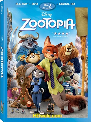Zootopia Full Movie Download English (2016) 1080p & 720p BluRay