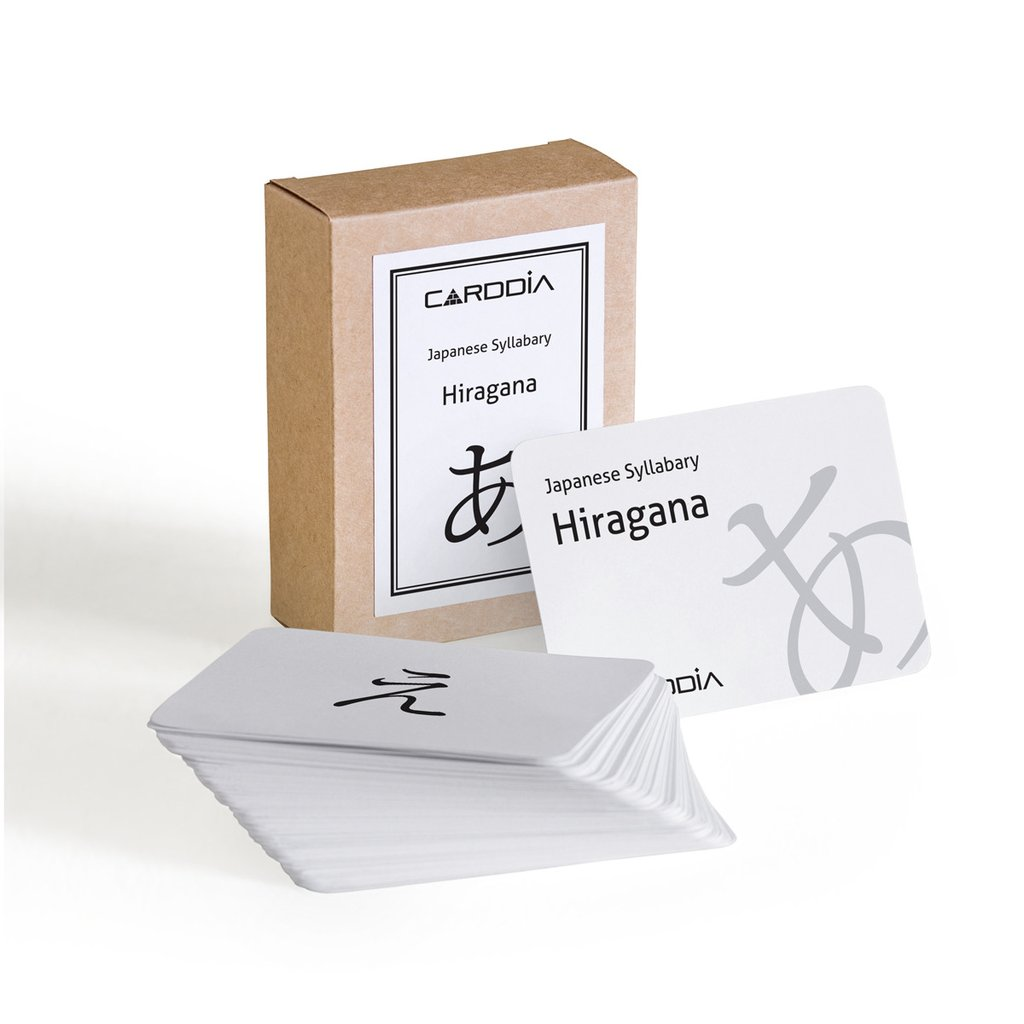 Memorize The Words Quickly With Hiragana Flash Cards Carddia Flashcards