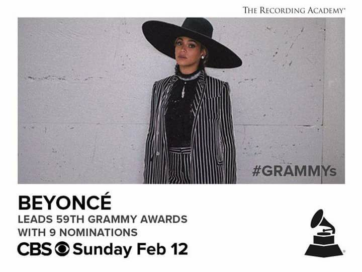 beyonce now grammy's most nominated female artist ever