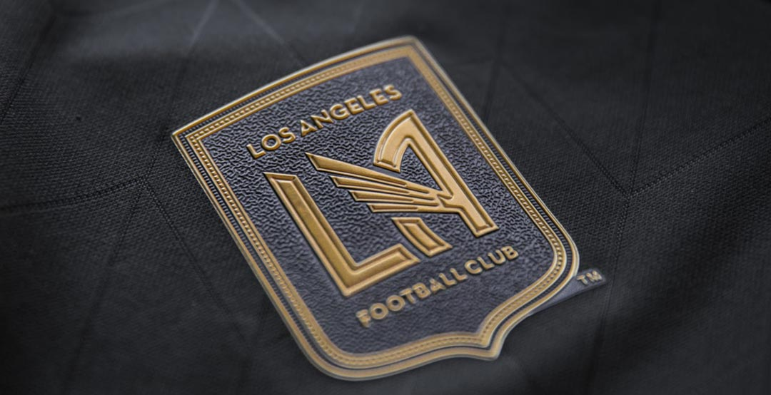 new products ac6ff 95f42 LAFC 2018 Inaugural Season Home + Away Kits Released - Footy ...