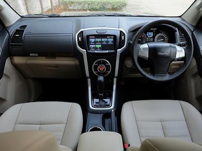 Interior Dashboard Isuzu MU-X Facelift